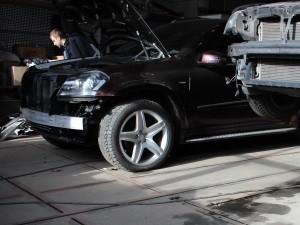 Кузовной ремонт автомобиля после ДТП