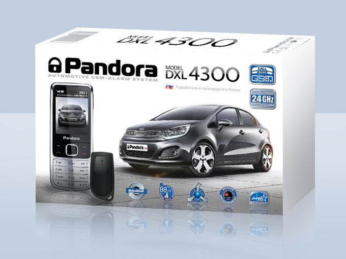 pandora DXL4300