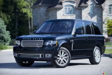 Рестайлинг Range Rover Autobiography 2012