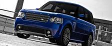 Дизайн Range Rover Vogue Kahn.  RS Комплект боковых порогов.